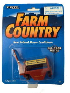 ERTL Farm Country New Holland Mower Conditioner 1/64 #322