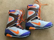 Nike Zoom Kaiju Snowboard Boots Men's 11.5  376276-281 Purple Orange Snow board