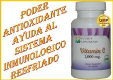 VITAMINA C  1,000 mg  100% NATURAL ( un antioxidante poderoso)