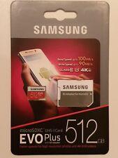 Samsung EVO-Plus 512GB microSDXC UHS-I Karte 100/90 MB/s (r/w) * ungeöffnete OVP