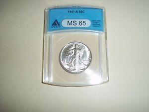 1941-S MS-65 Walking Liberty Half Dollar