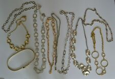 Lot Of 10 Pre-Owned Ladies Metal Belts    (MA11)