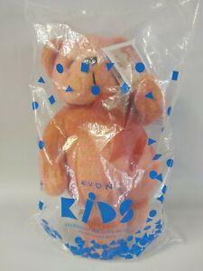 "2002 Avon Talking Valentino The Love Bear Plush Stuffed Animal Toy 12"""