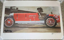 Harold James Cleworth 1929 Armacost Miller Special Limited Edition Lithograph