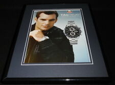 Jeff Gordon 2005 Tag Heuer Watches 11x14 Framed ORIGINAL Advertisement