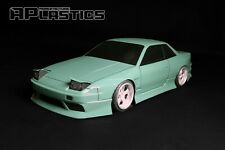 RC Body Car Drift Touring 1:10 Nissan Silvia S13 Onevia style APlastics New