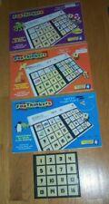 Educational Insights FUN THINKERS Match Frame Tiles + 3 Books PreK-3rd Grade