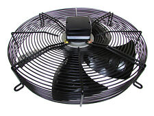 "1ph 230v Guard Mounted Axial 450mm 18"" 4 Pole BLOWER Fan Quality cw terminal box"
