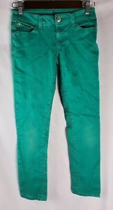Celebrity Pink Pants Jeans Girls Size 12 Green Used