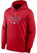 Nike Men's Philadelphia Phillies Authentic Collection Hoodie Sweatshirt Large L