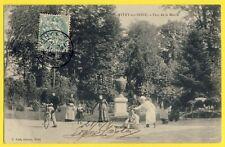 cpa France 94 - VITRY sur SEINE en 1906 PARC de la MAIRIE Animés Cuistot Vélo
