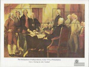 EEUU Bloque 13 nuevo 1976 200 años independencia