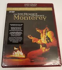 The Jimi Hendrix Experience Live At The Monterey HD DVD NEW SEALED