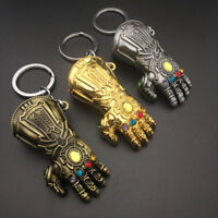 Thanos Keyring Stormbreaker The Avengers 3 Infinity War Gauntlet Glove Keychain