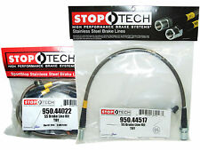Stoptech Stainless Steel Braided Brake Lines (Front & Rear Set / 44022+44517)