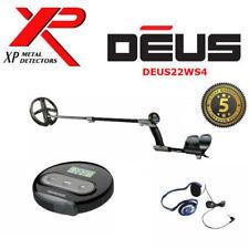 "XP DEUS Metal Detector  V4  WS4 Display + 9""  Coil + FX-02 Wired Headhones WOW"