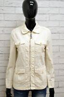 Giubbino INVICTA Donna Taglia Size S Giubbotto Giacca Jacket Woman Cotone Bianco