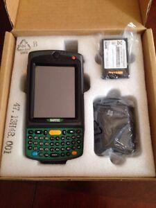 New Bartec Motorola Symbol  B7A2720Y0SWQQA9W00 NI , 1D Laser Camera WM6.5 MC75A0
