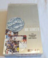 1991-92 Pro Set Platinum NHL Series 2 Sealed Box Of Hockey Cards! 36 Packs!