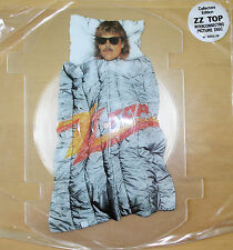 ZZ TOP ROUGH BOY Limited Edition Shaped VINYL Picture Pic Disc