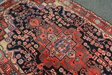 4x7 Geometric Semi Antique Kurdish Hamadan Tribal Handmade Wool Area Rug Carpet
