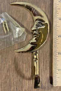 Moon Hook - Brass