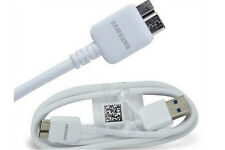 Original Ladekabel für Samsung Note 3 Galaxy S5 ET-DQ11 USB 3.0 Datenkabel weiß