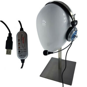 Gaming Headset PC USB Stereo Home Office Büro Conf Call Center Kopfhörer