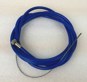"MTB Brake Cable Double Sheath Housing 60""x68"", BLUE"