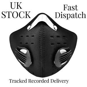 Black Rockbros Face Mask Cycling Sports Mask Running Bike Washable High Quality