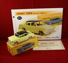 Dinky toys/atlas ref. 24 z simca versailles yellow free port