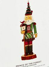 Hallmark 2019 Noble Nutcracker Prince Of The Forest Christmas Ornament First