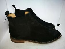 M&S collection Luxury black suede ankle boots size 7.5