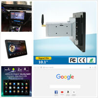 Single DIN Android 8.1 10.1'' 2+32G Car Stereo MP5 Player GPS BT WiFi 3G 4G OBD