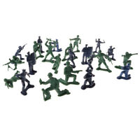 5cm Plastic Army Men Action Figures Soldiers & Police Toy - 24 Pieces