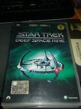 dvd perfetto-Star Trek Voyager-Stagione 1 uno disco 2 eposodi  4 - 7