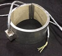 "ERGE 87616265 Ceramic Insulated Heater Band ~ 2500W / 230V / 7"" x 4.5""   (#31)"