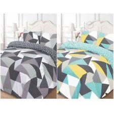 Linge de lit et ensembles bleu avec des motifs Géométrique pour chambre à coucher