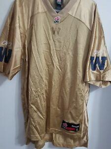 Winnipeg blue bombers Reebok Retro football jersey