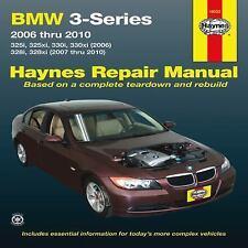 2006-2010 Haynes BMW 3-Series (325i/xi, 330i/xi, & 328i/ix) Repair Manual