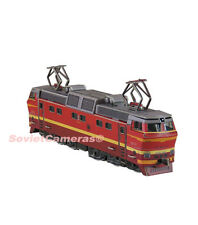 1/87 HO Scale Russian Electric Locomotive CHS2t Railway Cardboard Model Kit New