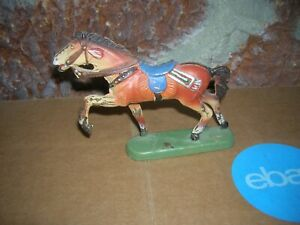 LEYLA PRE WAR HORSE COMPOSITION SOLDIER TOY GERMANY