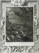 ANTIKE - Hero & Leander - Bernard Picart - Kupferstich 1731