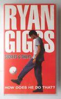 RYAN GIGGS SECRETS & SKILLS VIDEO VHS 1994 89 MINS FOOTBALL INTEREST