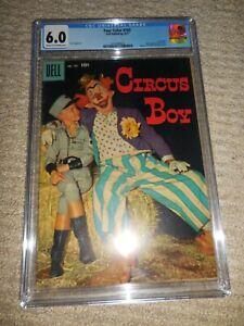 1957 Dell Four Color FC #785 Circus Boy CGC 6.0 Fine Mickey Dolenz