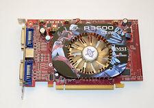 MSI ATI Radeon HD 3650 (R3650T2D512OC/D2) 512 MB GDDR2 SDRAM PCI Express x16...