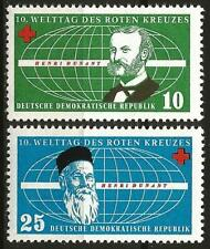 Germany (East) DDR GDR 1957 MNH - International Red Cross Day - Henri Dunant