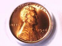 1946 D Lincoln Wheat Cent PCGS MS 66 RD 71018241