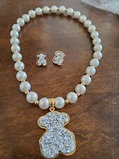 Pearl necklace set Tous