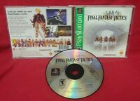 Final Fantasy Tactics  Playstation 1 2 PS1 PS2 Game Complete Tested Works Rare